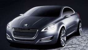 5 by Peugeot In Grey Front Side Pose